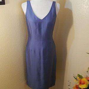 Gorgeous blue dress by Ann Taylor